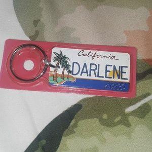 A Darlene key chain
